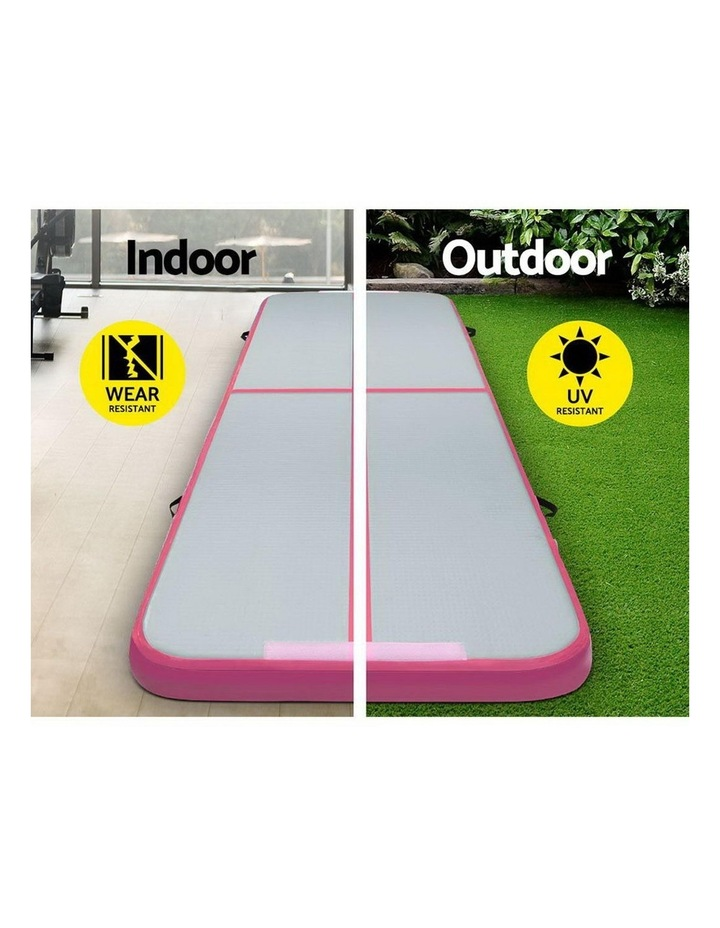 GoFun 3X1M Inflatable Air Track Mat with Pump Tumbling Gymnastics Pink image 4