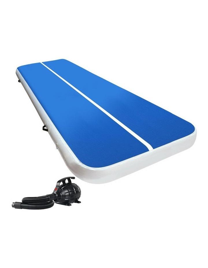 GoFun 4MX2M Inflatable Air Track Mat & Pump Tumbling Gymnastics Gym image 1