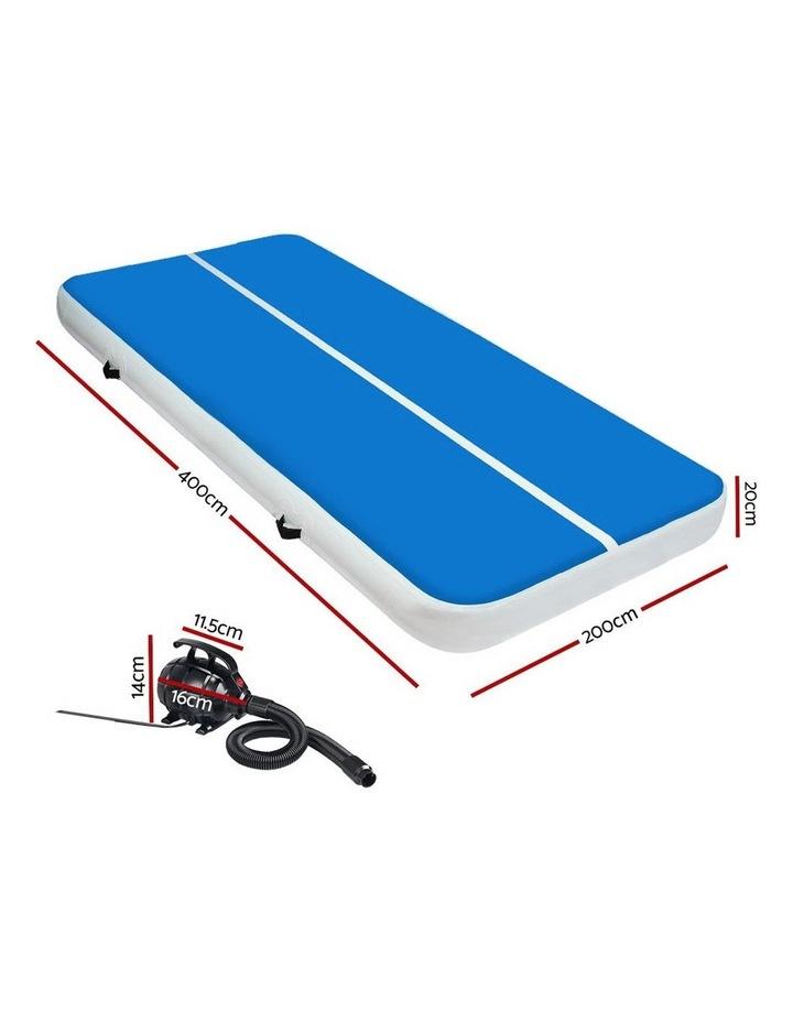 GoFun 4MX2M Inflatable Air Track Mat & Pump Tumbling Gymnastics Gym image 2