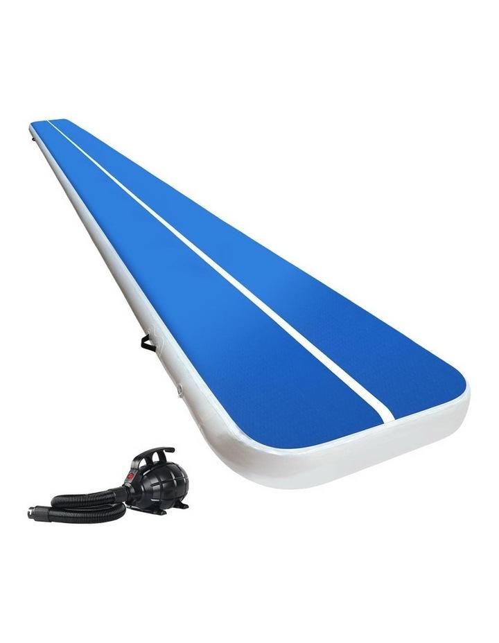 GoFun 7M Inflatable Air Track Mat W/Pump Tumbling Floor Gymnastics 20CM image 1