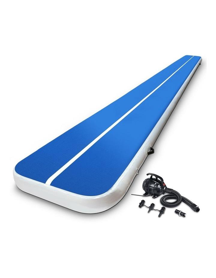 GoFun 8M Inflatable Air Track Mat W/Pump Tumbling Floor Gymnastics 20CM image 1