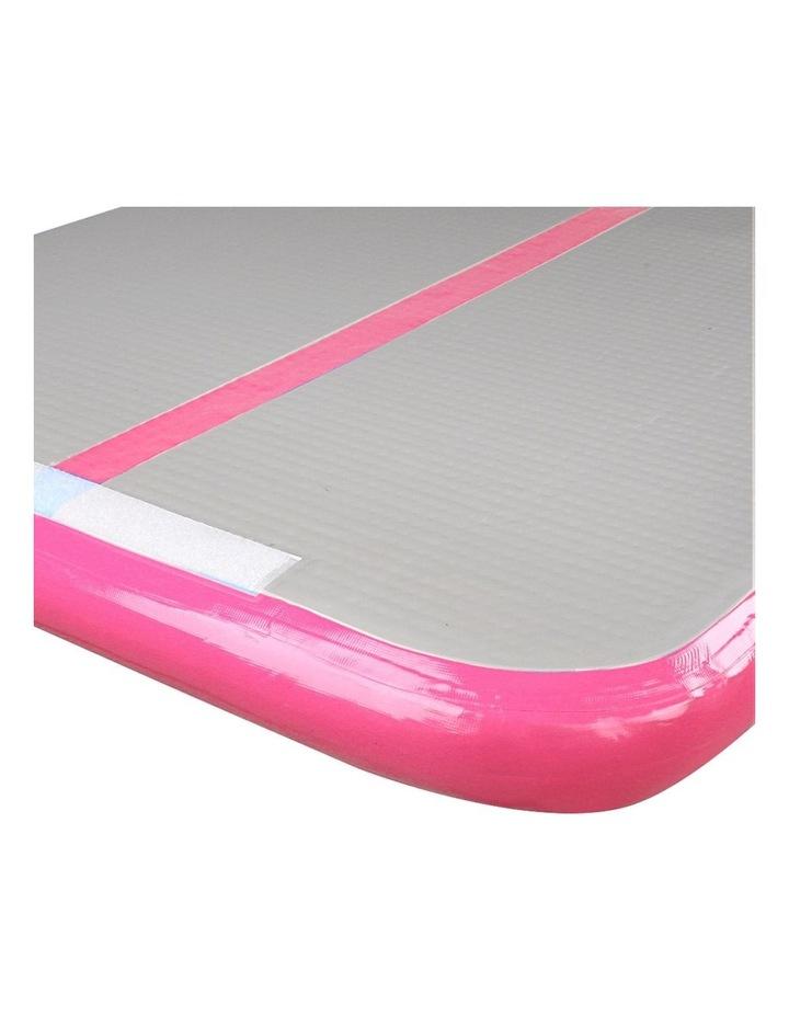 Inflatable Air Track Mat Gymnastic Tumbling 3m x 100cm - Pink & Grey image 5