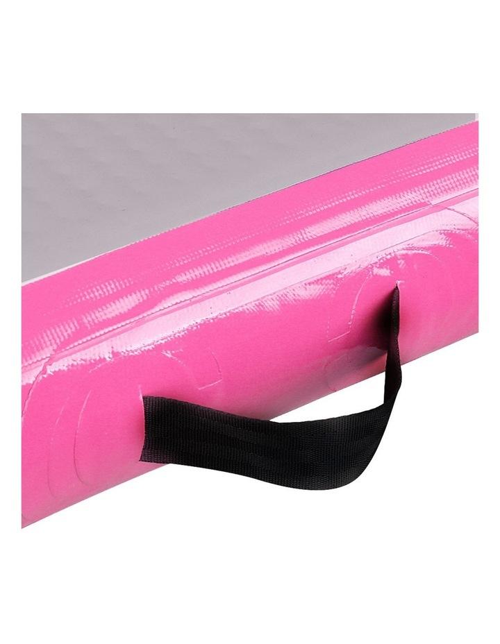 Inflatable Air Track Mat Gymnastic Tumbling 3m x 100cm - Pink & Grey image 6