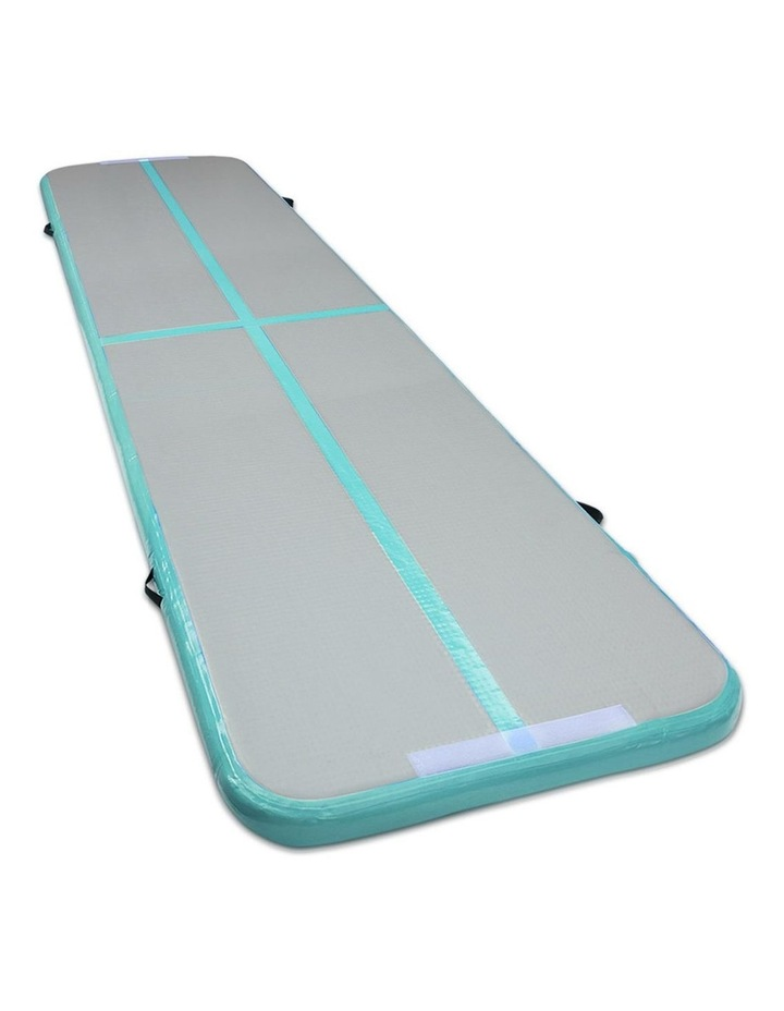 4X1M Airtrack Inflatable Air Track Tumbling Mat Home Floor Gymnastics image 1