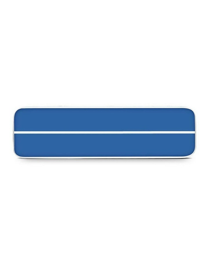 Inflatable Air Track Mat Gymnastic Tumbling 5m x 100cm - Blue image 4