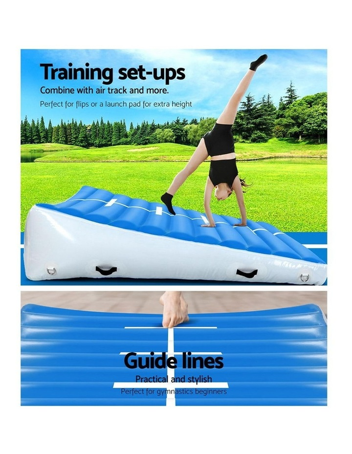 2X2X0.4M Airtrack Inflatable Air Track Ramp Incline Mat Floor Gymnastics image 3