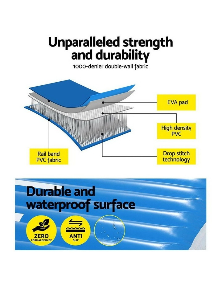 2X2X0.4M Airtrack Inflatable Air Track Ramp Incline Mat Floor Gymnastics image 4