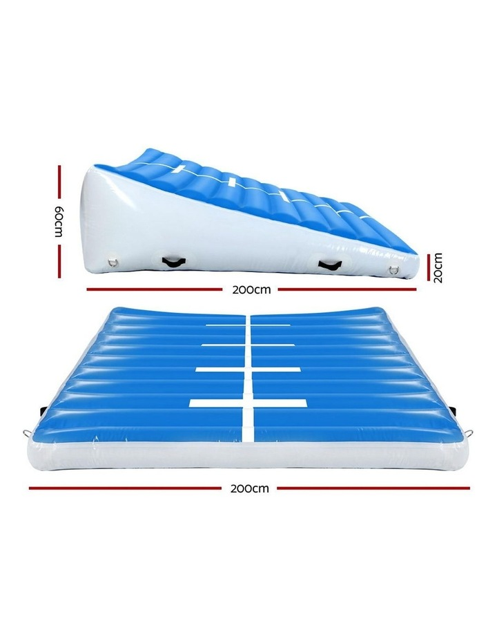 2X2X0.6M Airtrack Inflatable Air Track Ramp Incline Mat Floor Gymnastics image 2