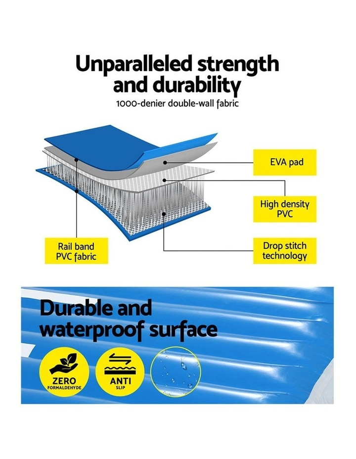 2X2X0.6M Airtrack Inflatable Air Track Ramp Incline Mat Floor Gymnastics image 4