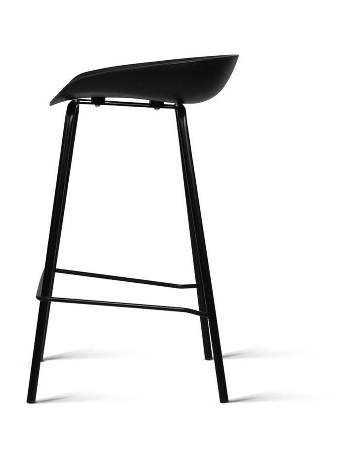 Strange Artiss Artiss Set Of 2 Metal Bar Stools Black Machost Co Dining Chair Design Ideas Machostcouk