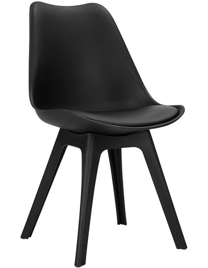 Retro Padded Dining Chair image 1