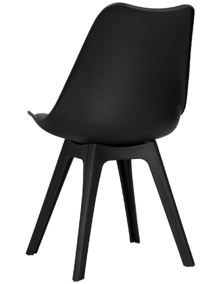 Retro Padded Dining Chair image 3