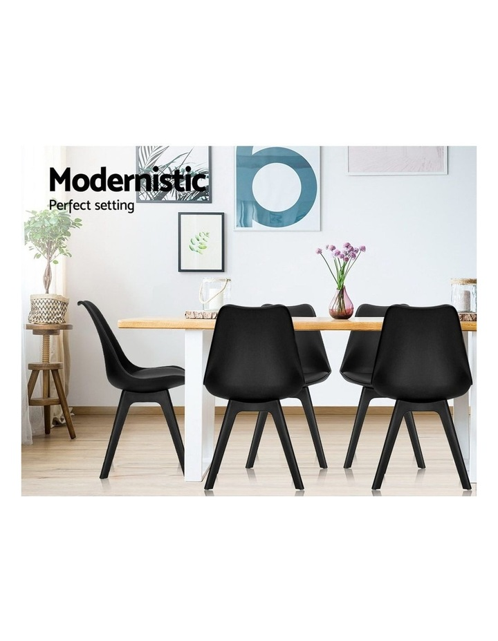 Retro Padded Dining Chair image 5