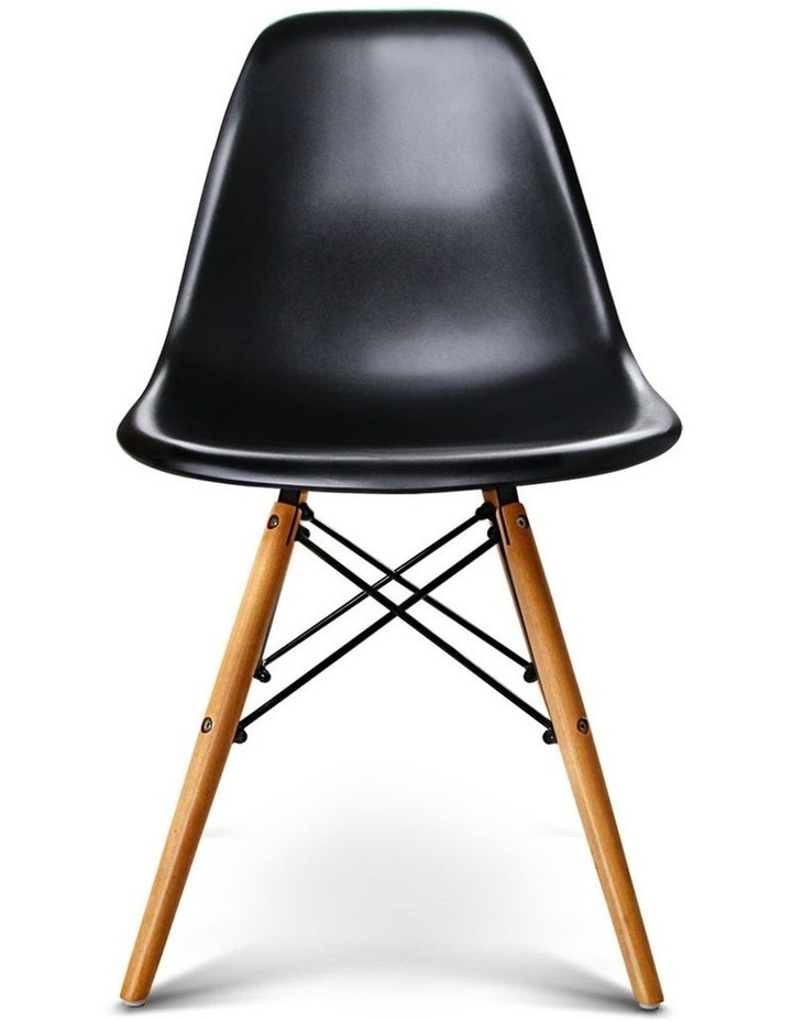 Retro Beech Wood Dining Chair image 1