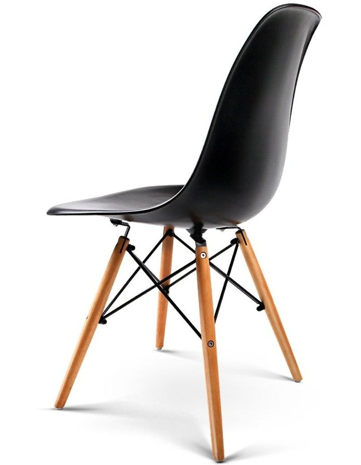 Retro Beech Wood Dining Chair image 4