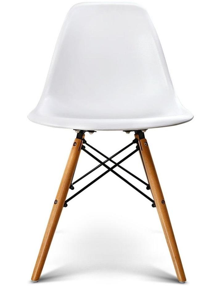 Retro Beech Wood Dining Chair image 1