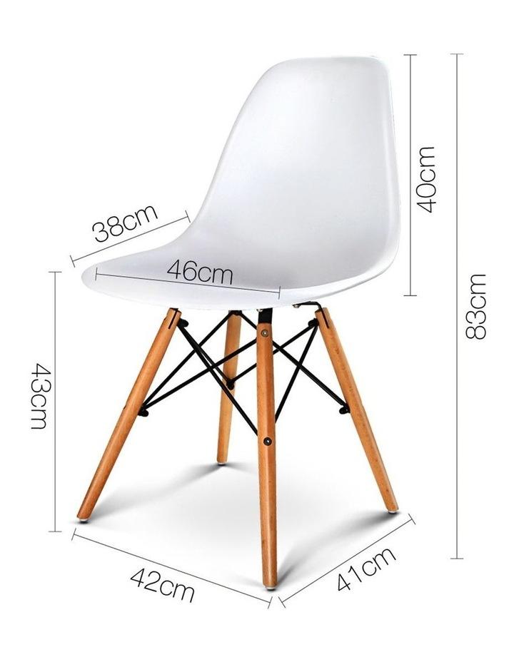 Retro Beech Wood Dining Chair image 2