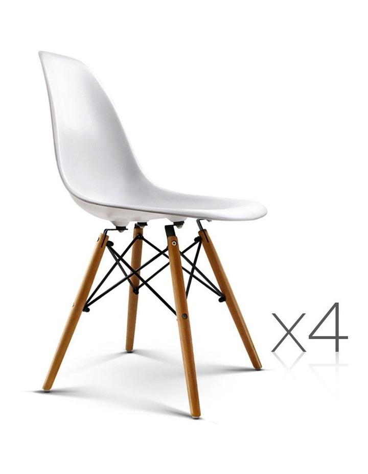 Retro Beech Wood Dining Chair image 3