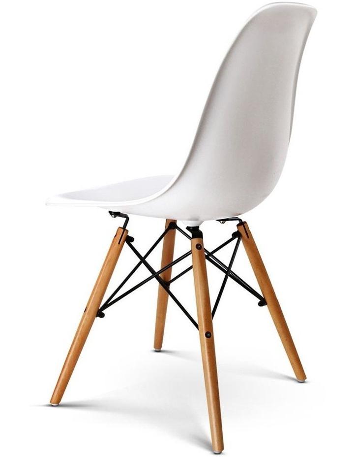 Retro Beech Wood Dining Chair image 4