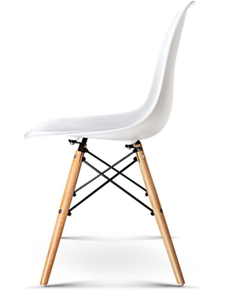 Retro Beech Wood Dining Chair image 5