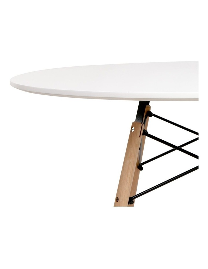 Round Beech Timber Dining Table image 4