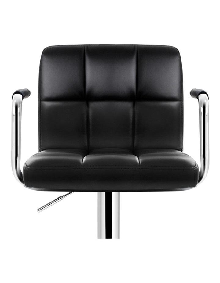 Noa Bar Stools Kitchen Swivel Bar Stool Leather Gas Lift Chairs image 3