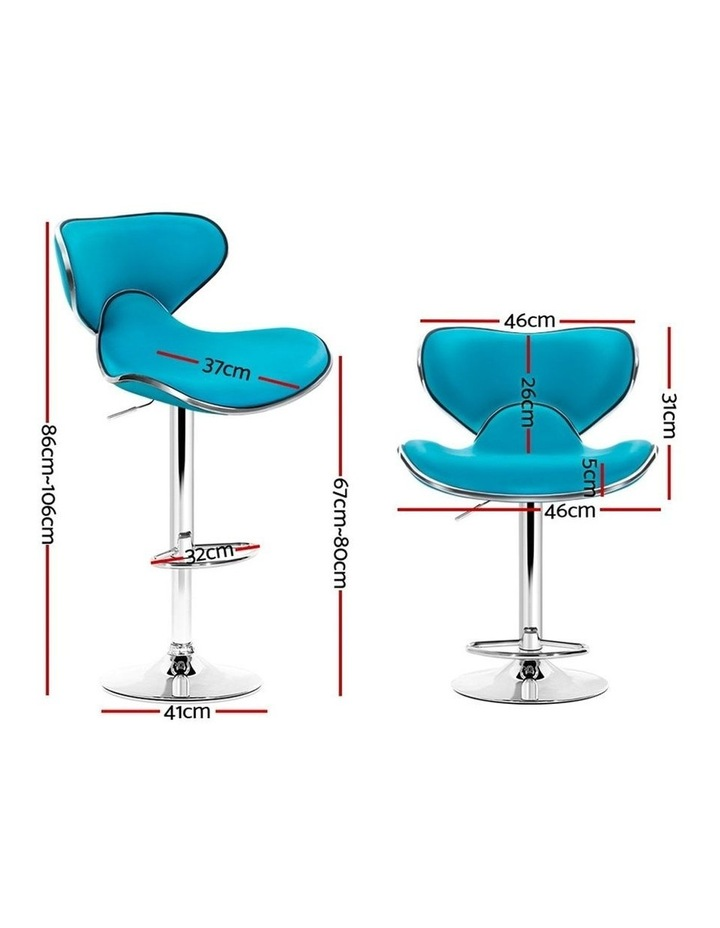 Bar Stools Dino Kitchen Swivel Bar Stool Leather Gas Lift Chairs image 2