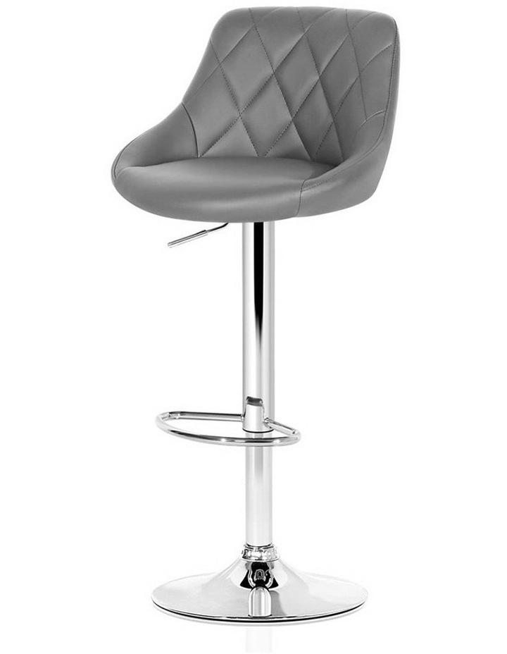 Elan Bar Stools Kitchen Swivel Bar Stool Leather Gas Lift Chairs image 1