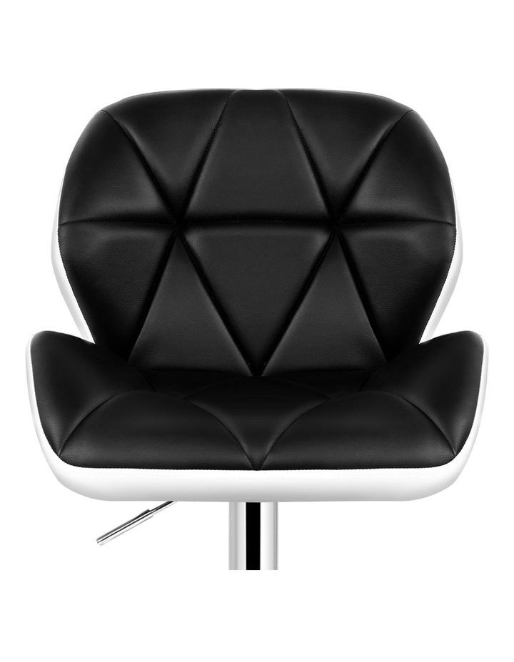 Kitchen Bar Stools Swivel Bar Stool Chairs Leather Gas Lift image 3