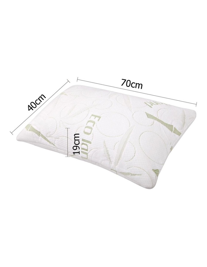 Set Of 2 Bamboo Pillow With Memory Foam image 2