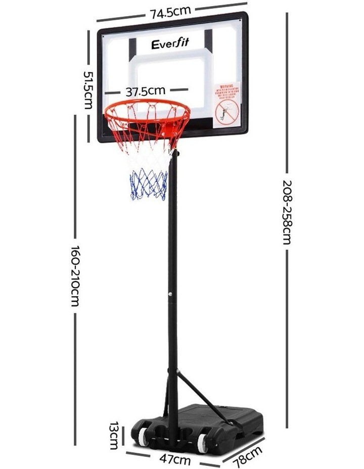 Adjustable Portable Basketball Stand image 3