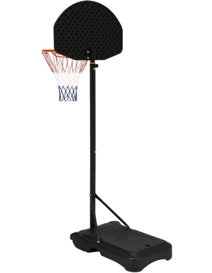 Everfit Pro Portable Basketball Stand System Hoop Height Adjustable Net Ring BK image 2