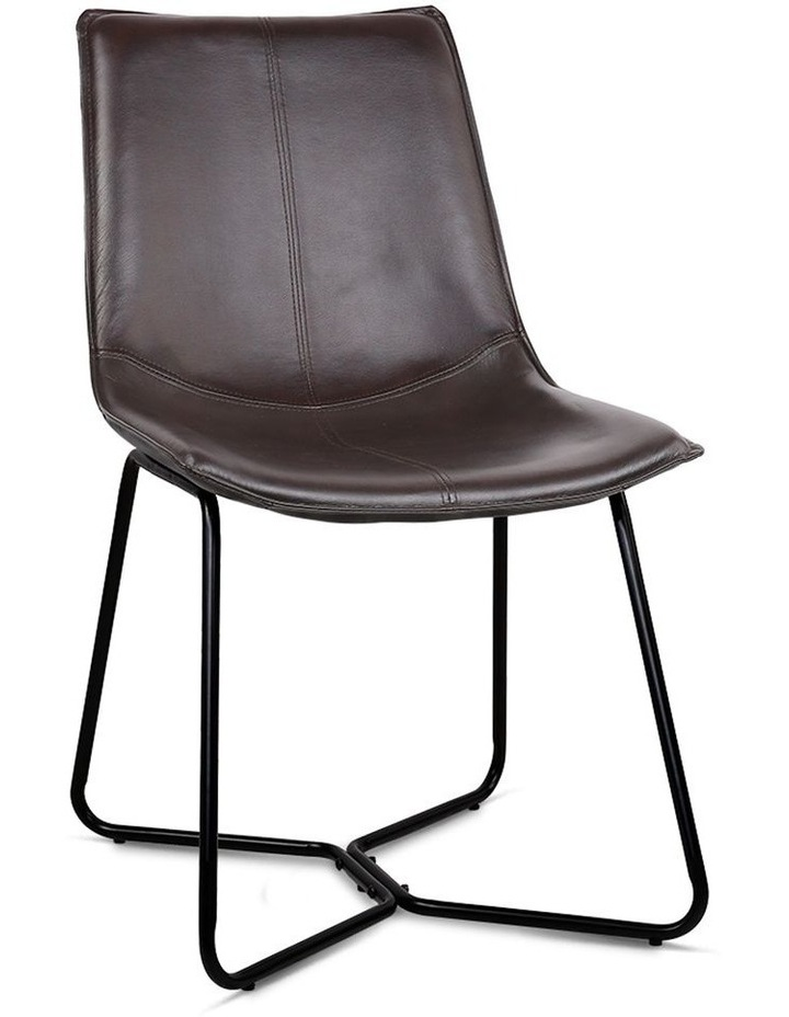 Set Of 2 Pu Leather Dining Chair image 1