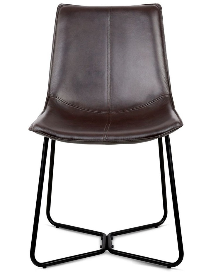 Set Of 2 Pu Leather Dining Chair image 3