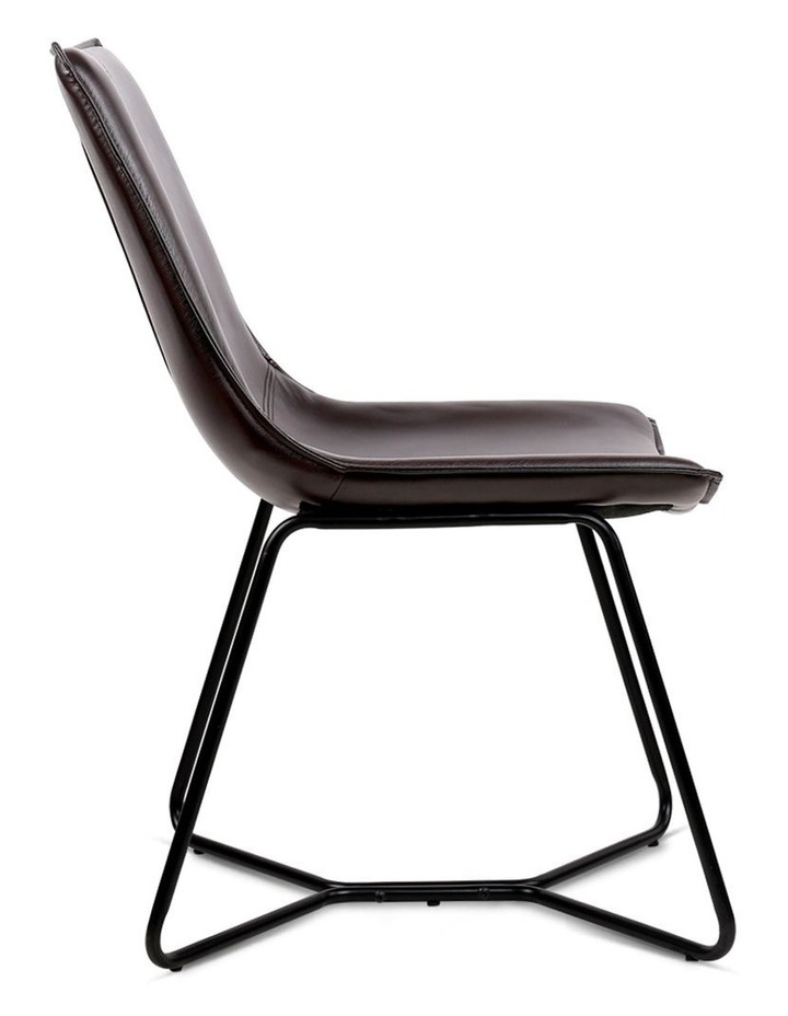 Set Of 2 Pu Leather Dining Chair image 4