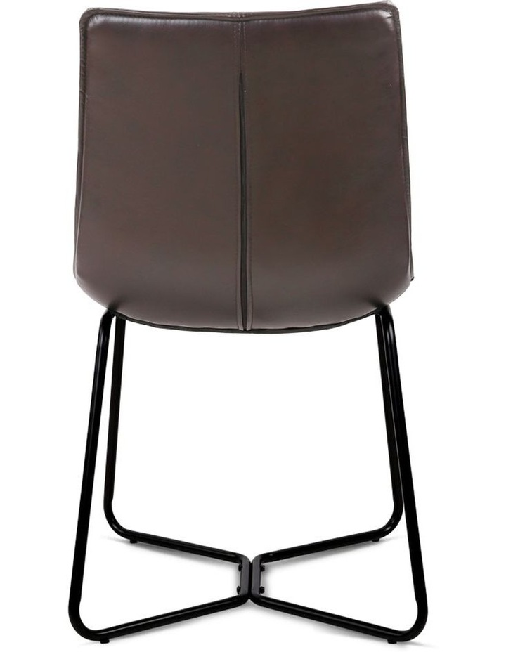 Set Of 2 Pu Leather Dining Chair image 5