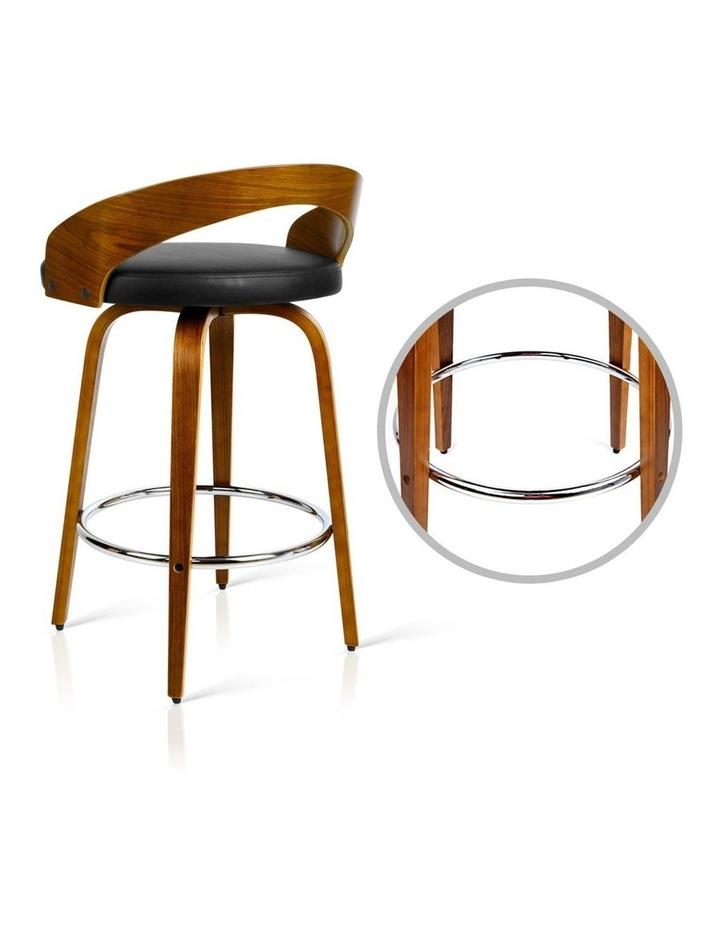 Set Of 2 Wooden Bar Stools image 5