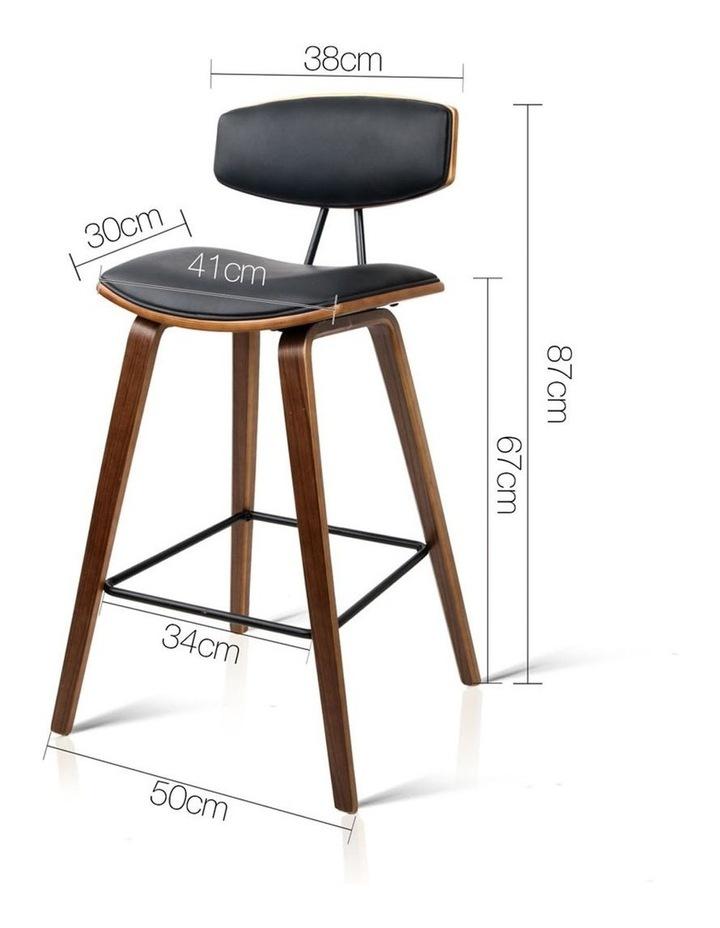 Set Of 2 Pu Leather Bar Stools image 2