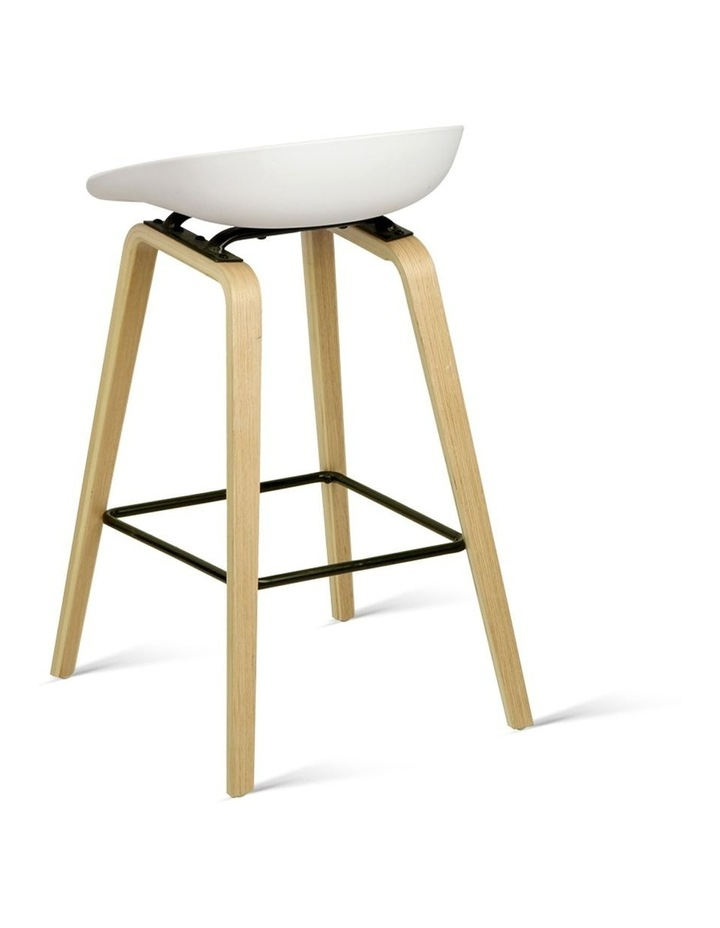 Wooden Backless Bar Stools image 3