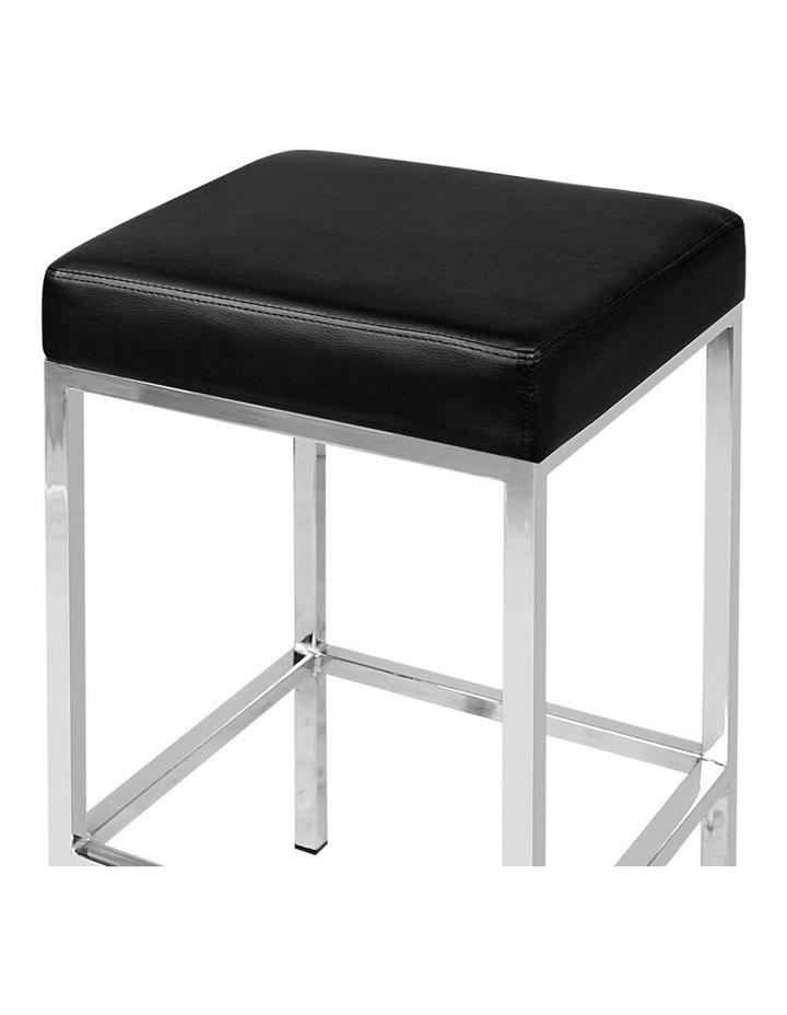 Set Of 2 Pu Leather Backless Bar Stools image 5