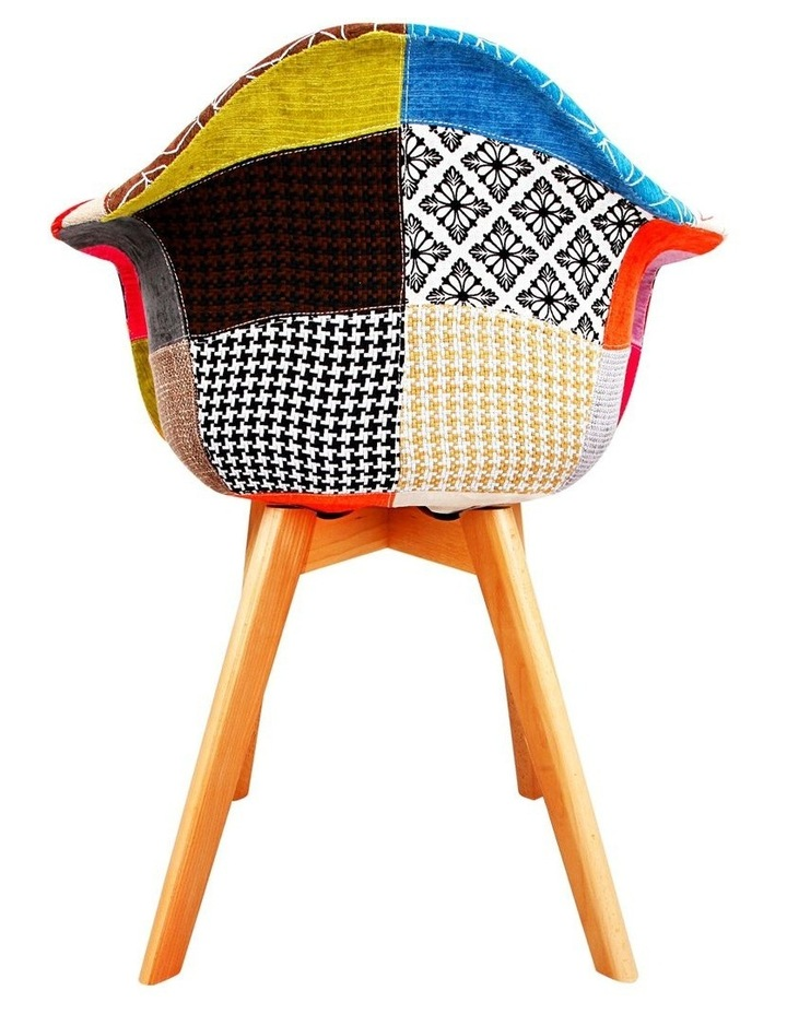 Set Of 2 Fabric Dining Chairs image 5