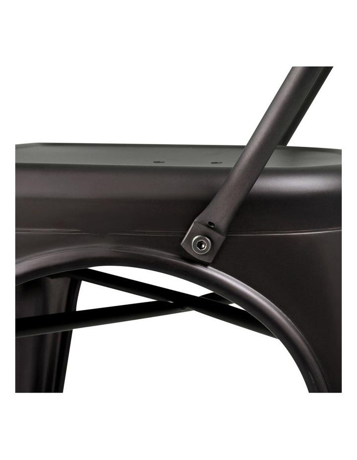 Set Of 4 Metal Bar Stools image 5