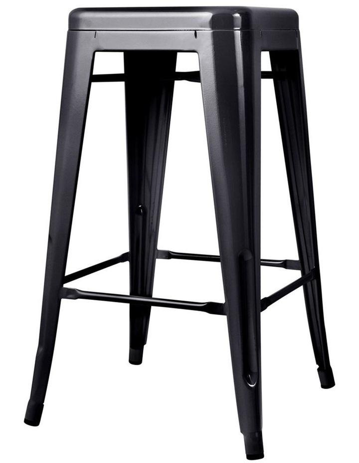 Set Of 4 Metal Backless Bar Stools image 5