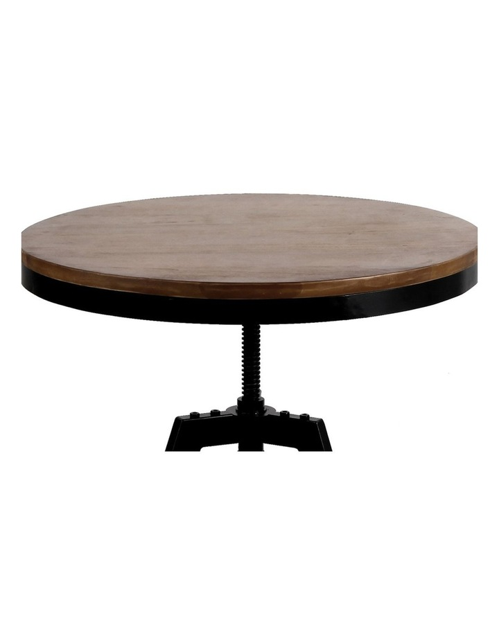 Elm Wood Round Dining Table image 5