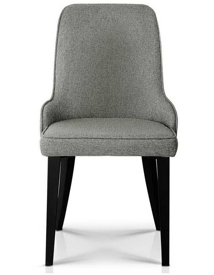 Set Of 2 Fabric Dining Chairs image 3