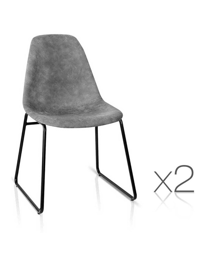 Pu Leather Dining Chairs image 1
