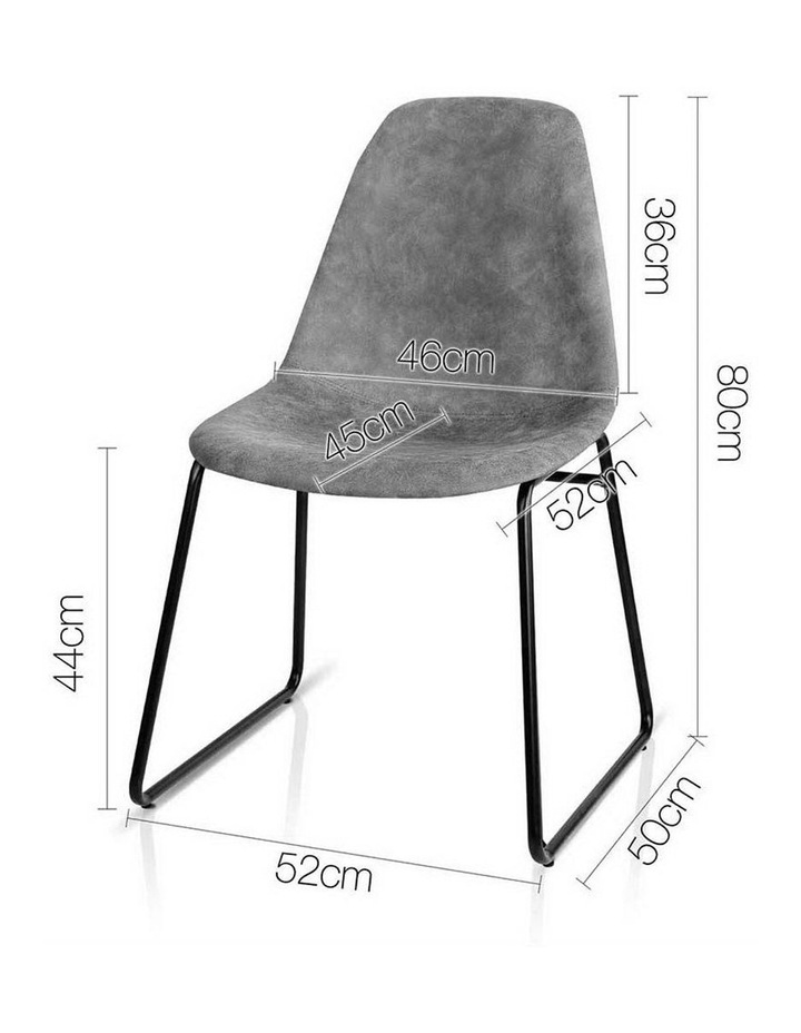 Pu Leather Dining Chairs image 2