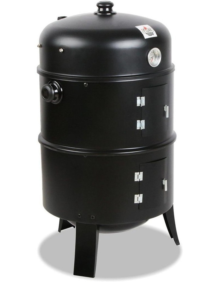 3-In-1 Charcoal Bbq Smoker image 1