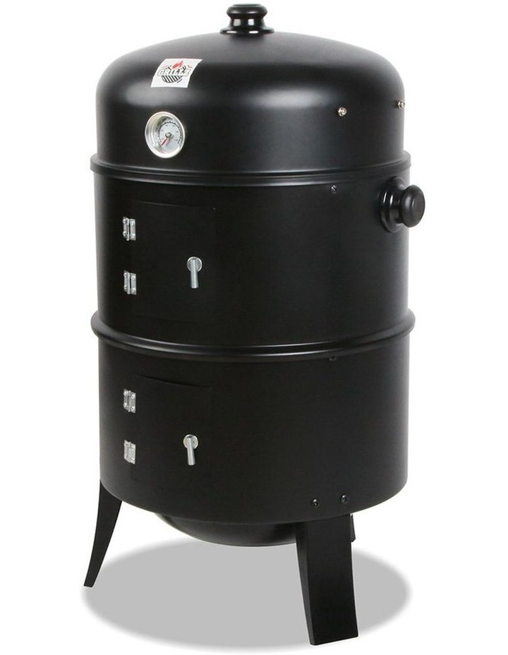 3-In-1 Charcoal Bbq Smoker image 3