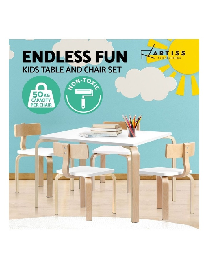 Kids Table and Chair Set Study Desk image 4